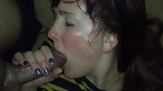 My GF has got so much encounter that she just can't stop sucking my puncture